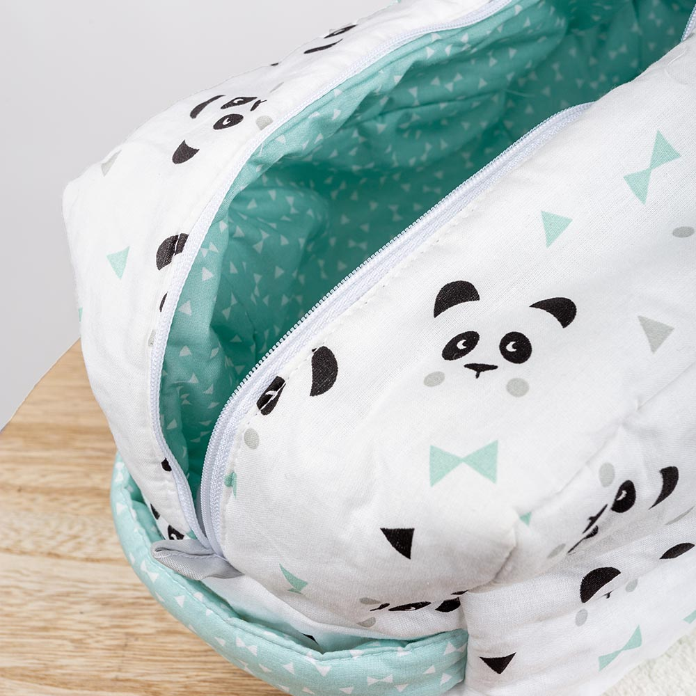 Panier de rangement coton - Panda