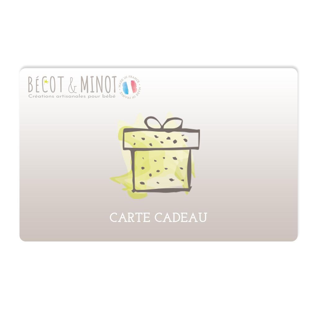 Carte cadeau Bécot & Minot